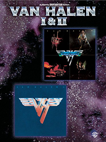 Preisvergleich Produktbild Van Halen I and II : authentic guitar-tab edition/vocal