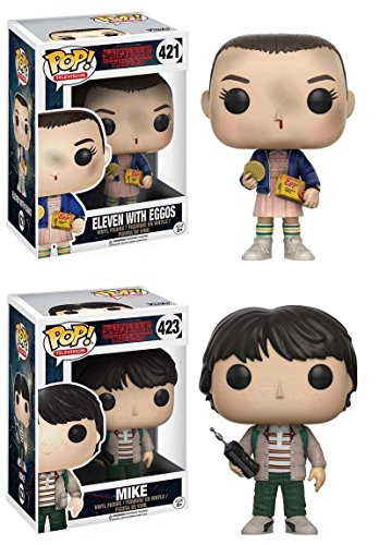 funko-pop-stranger-things-eleven-with-eggos-mike-vinyl-figure-set-new