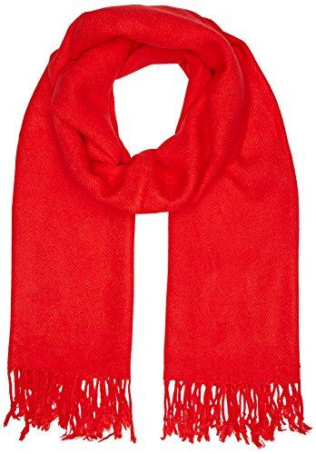 Compañia Fantastica Damen Schal Manhattan Scarf, Rot (Red 000020), Medium Preisvergleich