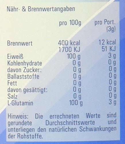 Vitasyg L-Glutamin Pulver 100 Prozent rein, optimale Löslichkeit, Aminosäure, 1er Pack (1 x 800 g)
