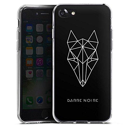 Apple iPhone X Silikon Hülle Case Schutzhülle Fuchs Fox Muster Silikon Case transparent