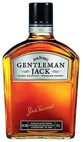 Jack Daniel's Gentleman Jack Rare Tennessee Whiskey (1 x 0.7 l)   Außen Gentleman, innen Jack - zweifach