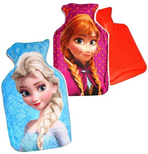 alles-meine.de GmbH 1 Stück _ Wärmeflasche -  Disney Frozen - die Eiskönigin  - 0,75 Liter - mit..