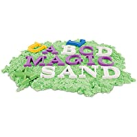 TOYMYTOY Letters Sand Molds - Nombre Sand Molding Tools para niños Beach Sand Pit Toys - 26 piezas alfabeto en mayúscula