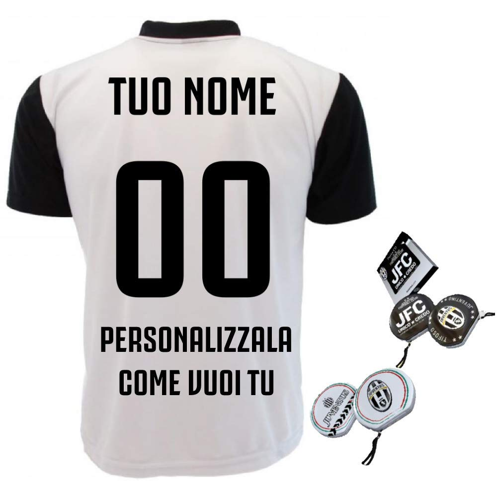 3b869b127 Perseo Maglia Juventus Personalizzata Replica Juve 2018 2019 PS 27400 Nome  e Numero + Porta CD