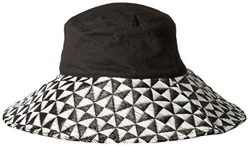 physician-endorsed-womens-sundara-packable-black-canvas-hat-black-one-size