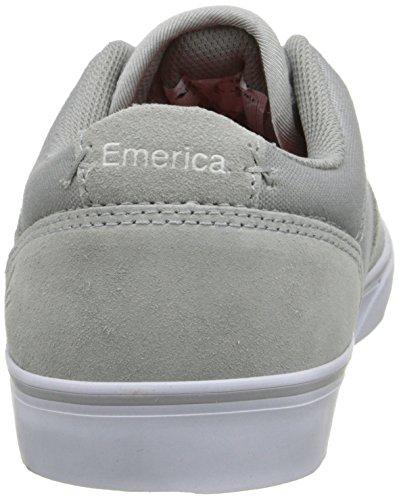 Emerica - The Herman G6 Vulc, Scarpe da skate da uomo (LIGHT GRAY)