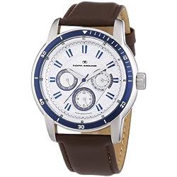 Tom Tailor Herren-Armbanduhr Analog Quarz Leder 5412304