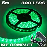 Complete Kit Professional Flexible LED Ribbon 5 M/60 LED M-Colour: Green - 3528