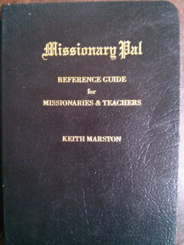 book pdf missionaries for pocket the reference