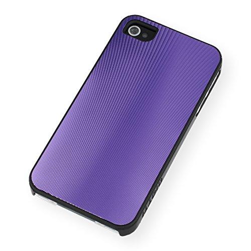 QIOTTI QX-C-0920-45-IP4 Q.Snap Shell CNC 3D für Apple iPhone 4/4S lila Apple Iphone Snap Lila