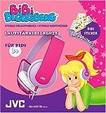 JVC HA-KD5-ZE Bibi Blocksberg Edition Hochwertiger Stereokopfhörer für Kinder lila/violett