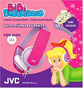 JVC HA-KD5-ZE Bibi Blocksberg Edition Hochwertiger