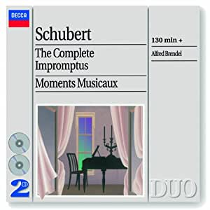Schubert : Impromptus - Moments musicaux (Coffret 2 CD)