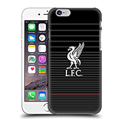 Head Case Designs Offizielle Liverpool Football Club Kit Weiss Und Schwarz Liver Bird Harte Rueckseiten Huelle kompatibel mit iPhone 6 / iPhone 6s
