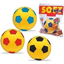 Mondo 07/852 - Palla da calcio morbida, ø 20 cm, Colori assortiti