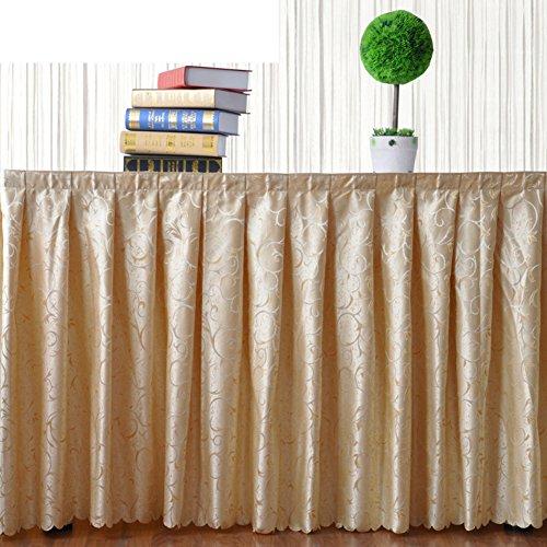 Tischrock/Tischdecken/Tischdecke decke/ Tisch decken/Tischtuch/ die Tischdecke/Check-in Tabelle Sockelleisten/ Chain Link Rock der Tabelle-B 40x150cm(16x59inch)