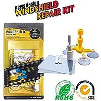 Kit de reparación de parabrisas, herramientas para eliminar grietas, lascas, ojos de buey o estrellas