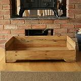 Hunt & Wilson handgefertigt Holz Hundebett