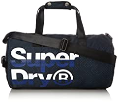 Idea Regalo - Superdry New Wave, Zaino Uomo, Blu (Navy/Cobalt), 30x45x15 cm (W x H x L)
