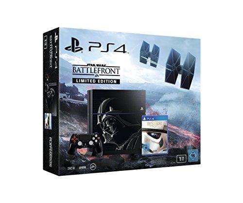 PlayStation 4 - Konsole (1TB) Star Wars Battlefront Limited Edition [CUH-1216B] (Ps4-bundle Mit Ps Vita)
