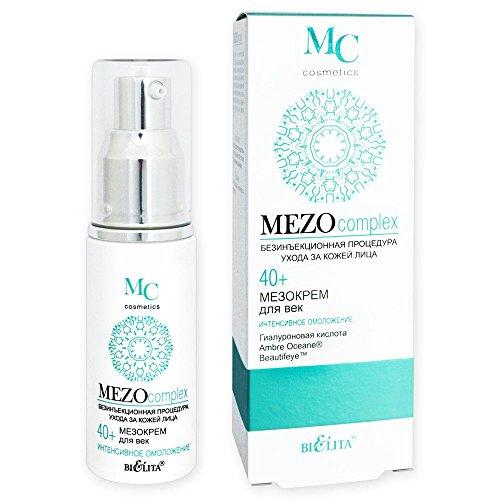 Belita-Vitex MEZOcomplex Anti-Aging Augencreme 40+, 30ml, mit Hyaluronsäure, AmbreOceane®- und...