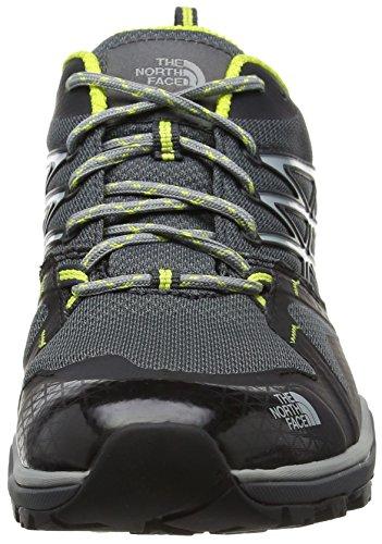The North Face Hedgehog Fastpack Lite Gore-Tex, Chaussures de Randonnée Basses Homme, 40.5 EU Noir (Dark Shadow Grey/Sulphur Spring Green)