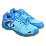 #5: YONEX Blue Power Cushion Badminton Shoes For Men & Women