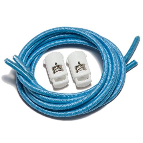 Speedlaces iBungee - Lacci elastici per scarpe Light Blue