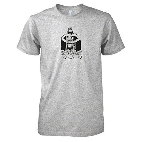 TEXLAB - World's Greatest Dad - Herren T-Shirt Graumeliert