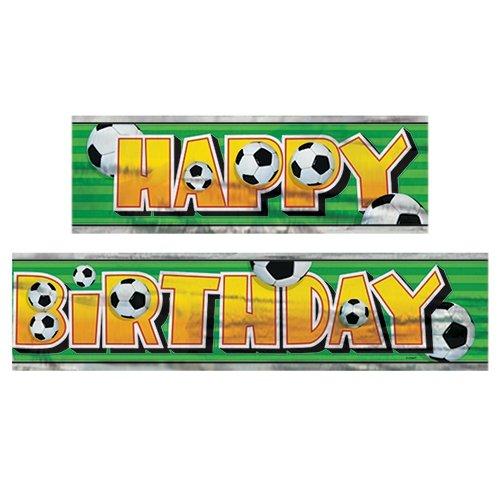 Unbekannt 12ft Fußball Happy Birthday Banner