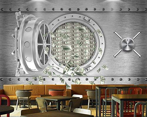 SKTYEE 3d bar restaurant tapete persönlichkeit kreative sichere einlagen dollar wall ktv mural fashion wallpaper, 250x175 cm (98.4 by 68.9 in) - 3-dollar-spiele