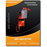 "4 x SWIDO protecteur d'écran Sony NW-A27HN protection d'écran feuille ""AntiReflex"" antireflets"