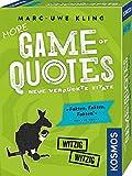 KOSMOS 693145 More Game of Quotes, Kartenspiel von Marc-Uwe Kling