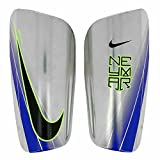 Nike Neymar Mercurial Lite Schienbeinschoner, Chrome/Volt/Racer Blue/(Black), L