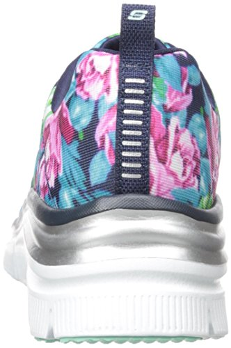 Skechers - Fashion Fit, Scarpe tecniche Donna Blu (NVMT)