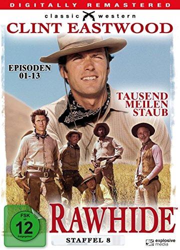Rawhide - Tausend Meilen Staub - Season 8 [4 DVDs] -