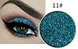 Glitzer Lidshatten Pressed Glitter Eyeshadow Nr. 11 Türkis