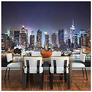 azutura New York City Wall Mural Skyscraper Skyline Photo Wallpaper Bedroom Home Decor available in 8 Sizes Gigantic Digital