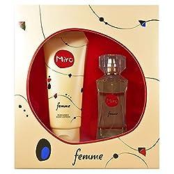 Miro Femme Woman Set Eau de Parfum 50 ml Loci n Corporal 100 ml 1er Pack 1 Unidad