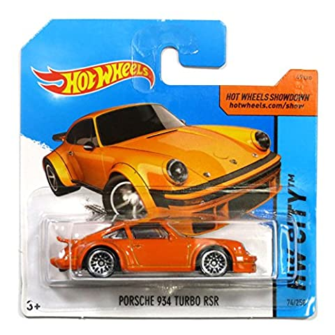 Hot Wheels Porsche 934 Turbo RSR orange 1:64