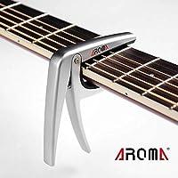 easyshop Aroma AC-01 chitarra capo morsetto a molla in acciaio