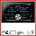 Pioneer FH-X730BT USB Bluetooth MP3 CD FLAC Einbauset für Nissan Qashqai J10