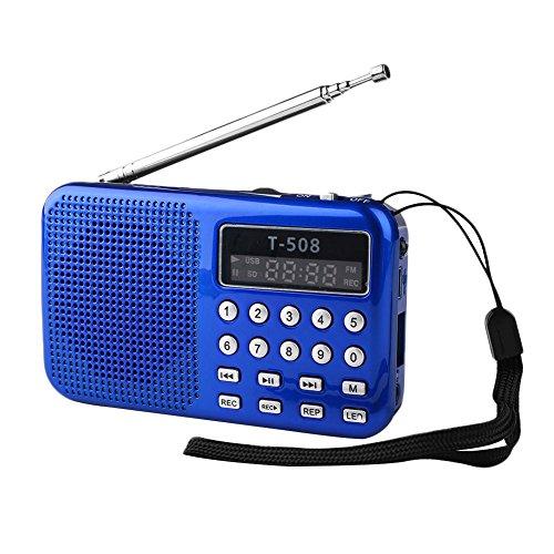 tsprecher tragbar Universal-Stereo-TF-Karten-Digitallautsprecher ()
