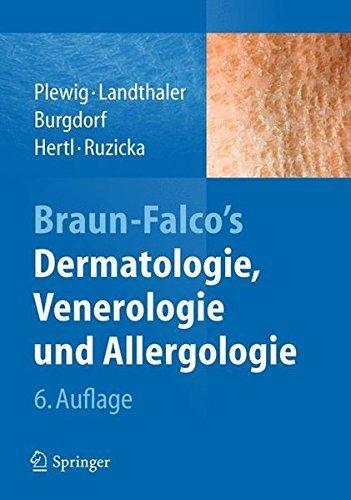 Braun-Falco's Dermatologie, Venerologie und Allergologie (German Edition) (2015-04-03)