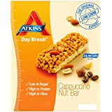 Atkins 37g Day Break Cappuccino Nut Bars - 4 x box of 5 (20 Bars)