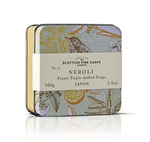 Scottish Soaps Soap In A Tin Vintage Neroli 100g
