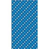 Contemporary Blue Dots 3 Ply Guest Towels