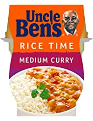 Uncle Ben's Rice Time Medium Curry Pot Snack, 300g
