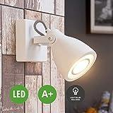 Lampenwelt Beton LED Strahler, Spot